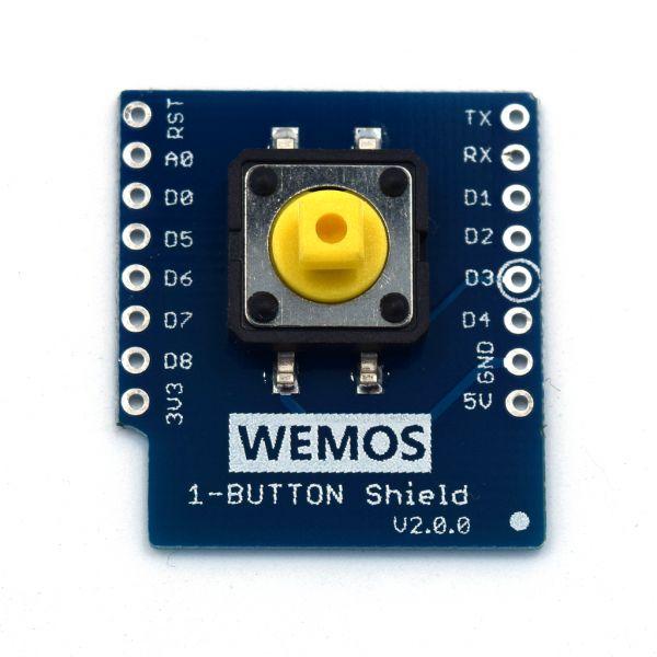 WeMos 1-button Shield für Wemos D1 Mini