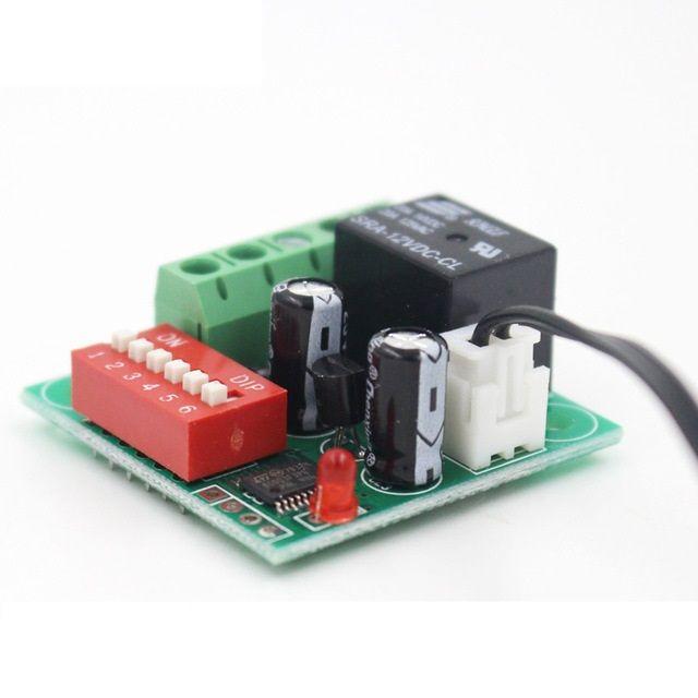 XH-W1701 12V Digitaler Temperatur Controller mit Regler - Thermostat