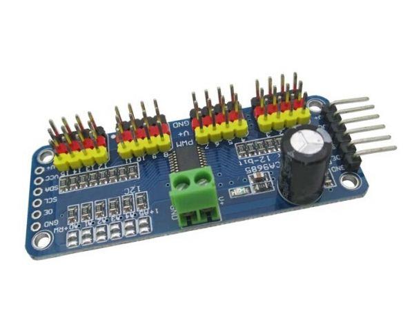 16 Kanal PWM/Servomotortreiber für Arduino Raspberry Pi