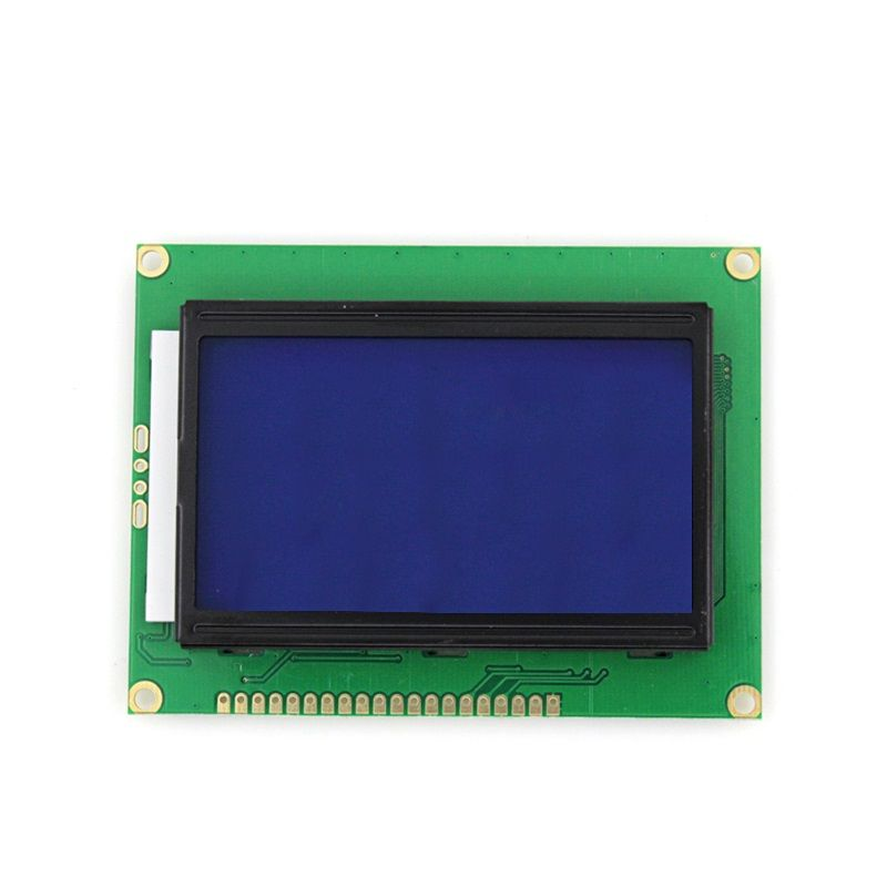 LCD12864 Display Modul 128x64 Full Graphic blaue Beleuchtung