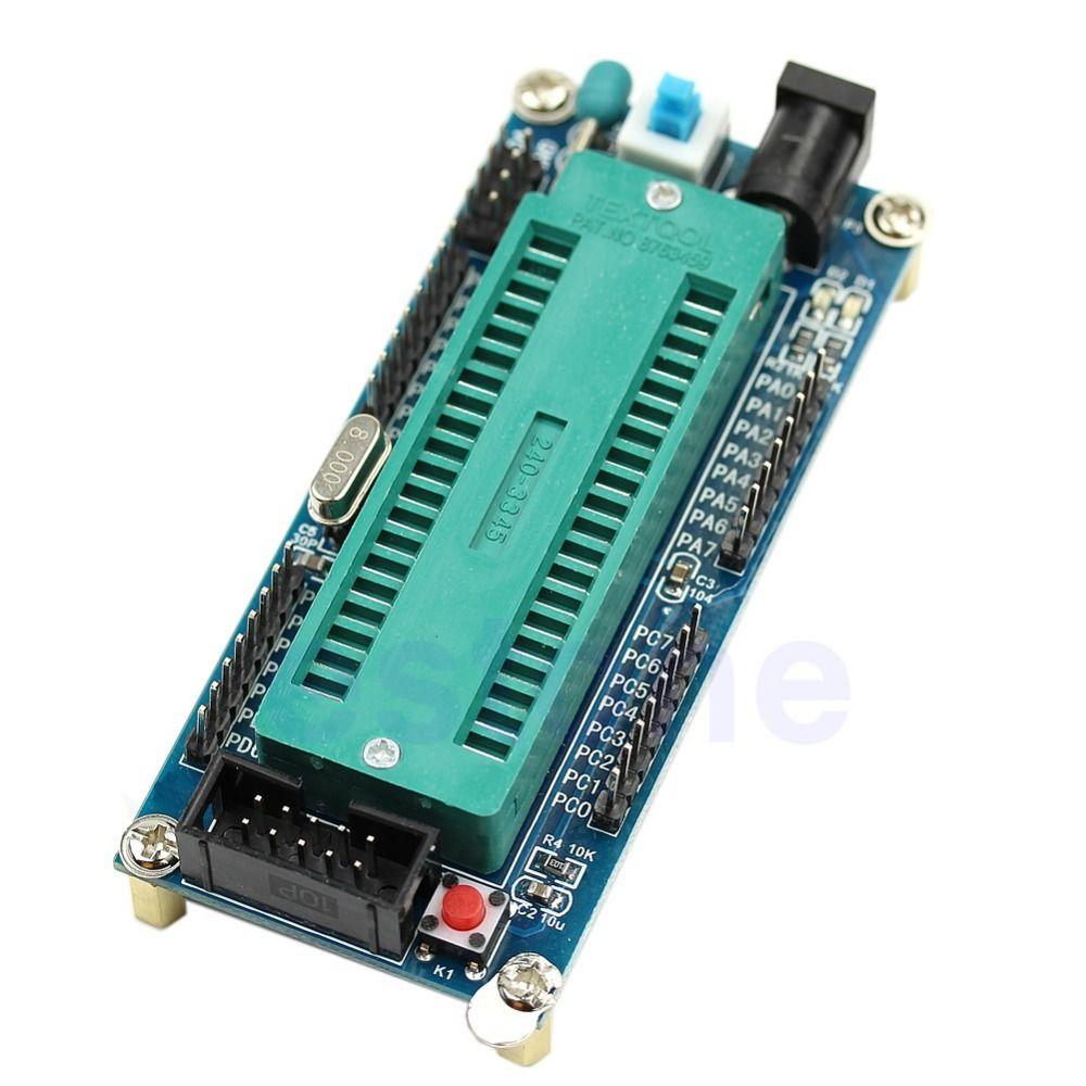 ISP AVR ATmega16-ATmega32 Minimum Mikrocontroller System Board ohne Chip