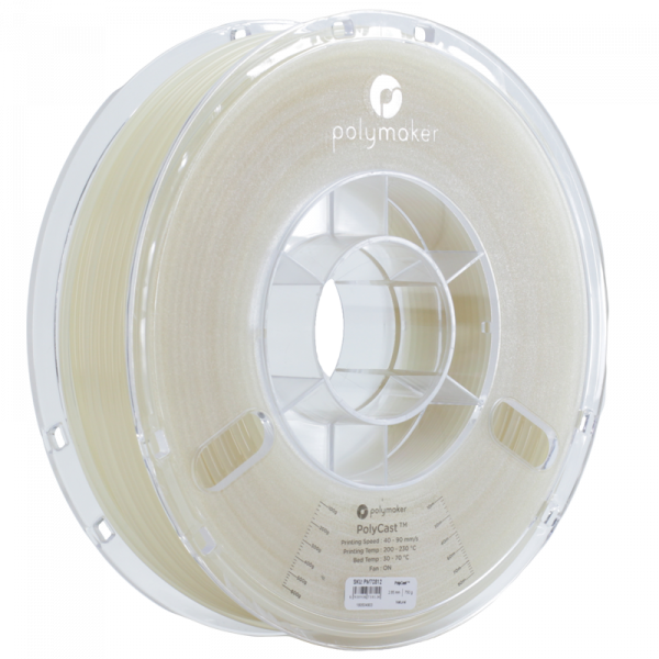 Polymaker PolyCast Filament Natur 1.75mm 750g