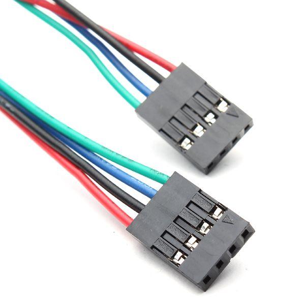 4 Pin Dupont Kabel Buchse-Buchse 70 cm