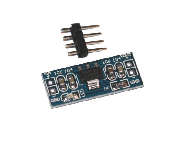 Mini Step Down Modul AMS1117 6.5V-12V auf 5V