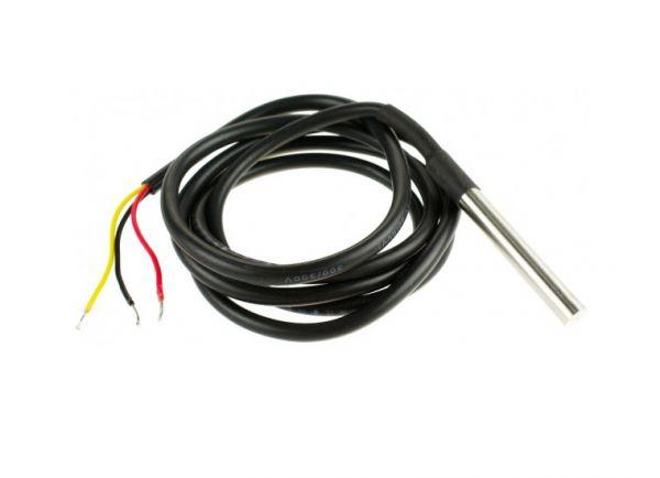 DS18B20 Temperatur Sensor - Wasserdichter Thermometer/Temperaturfühler