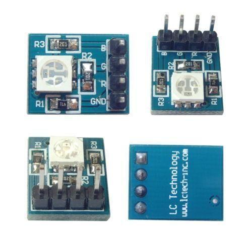 RGB SMD LED Modul 5050 3.3-5V für Arduino