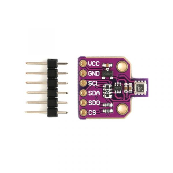 BME680 Digitaler Temperatur- Feuchtigkeit- Luftdruck- Gas-Sensor