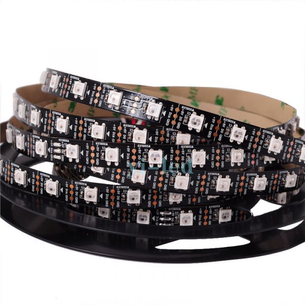WS2812B LED Pixel Strip 5050RGB DC5V 60LEDs/m 1Meter