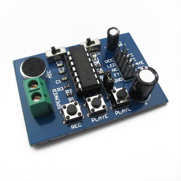 ISD1820 Voice Recorder / Stimmen- Soundrecorder mit Terminal für Arduino