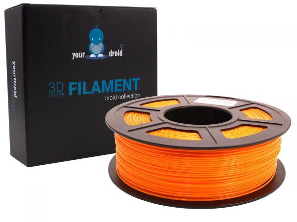 yourDroid PLA plus filament orange