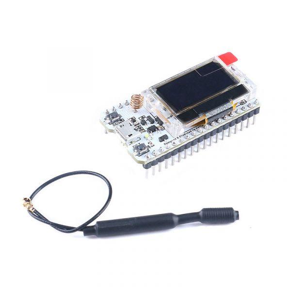 """868MHz-915MHz SX1278 LoRa ESP32 Entwicklungsboard mit 0.96"""" OLED-Display"""