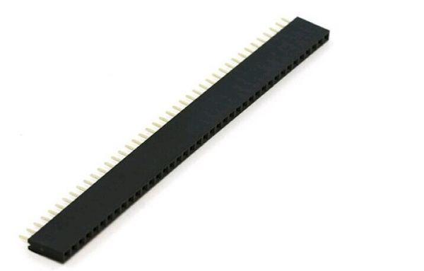 40 Pin 2.54 mm Buchsenleiste einreihig