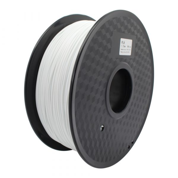 PLA white filament 1.75mm