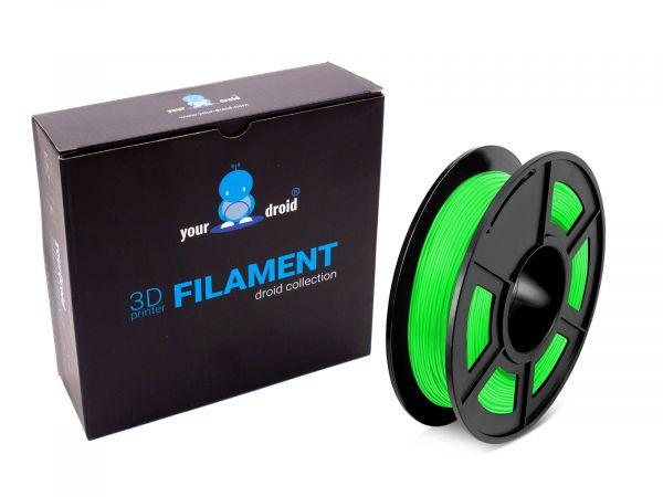 TPU filament grün