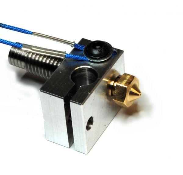 E3D V6 Heizblock (Alte Version - Klemme für Thermistor)