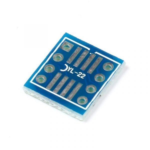 20 Stück Adapterplatinen SOP8 auf DIP8
