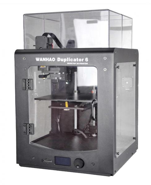 Wanhao Duplicator 6 3D-Drucker mit Abdeckungen