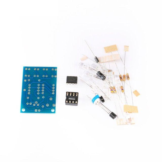 Bausatz: Pulsierende LED Lampe LM358