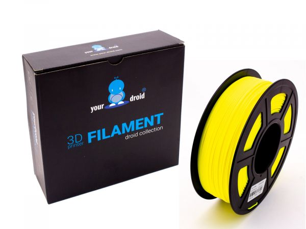 yourDroid PLA filament gelb