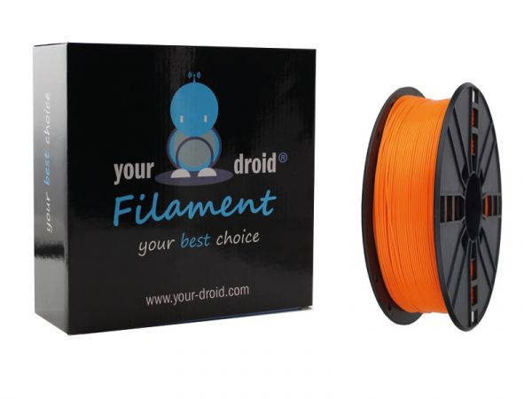 Your Droid PLA-Filament orange