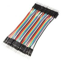 40 Pin Dupont / Jumper Kabel Stecker-Stecker 10 cm