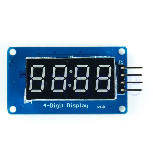 TM1637 4 Digit 7-Segment Display Modul