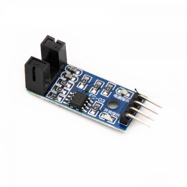 F249 Infrarot Geschwindigkeitssensor für Arduino/51/AVR/PIC 3,3 V-5 V
