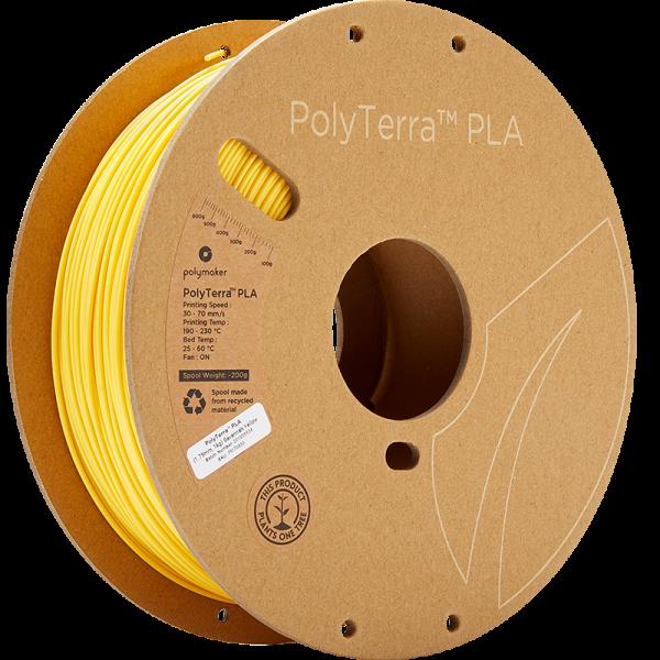 Polymaker PolyTerra PLA Filament Savannah Yellow 1.75mm 1kg