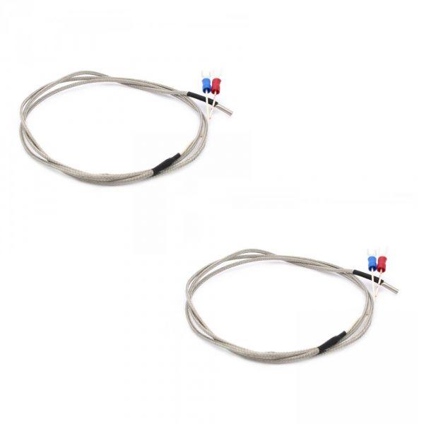 2er Pack K-Typ Temperaturfühler Thermocoupler