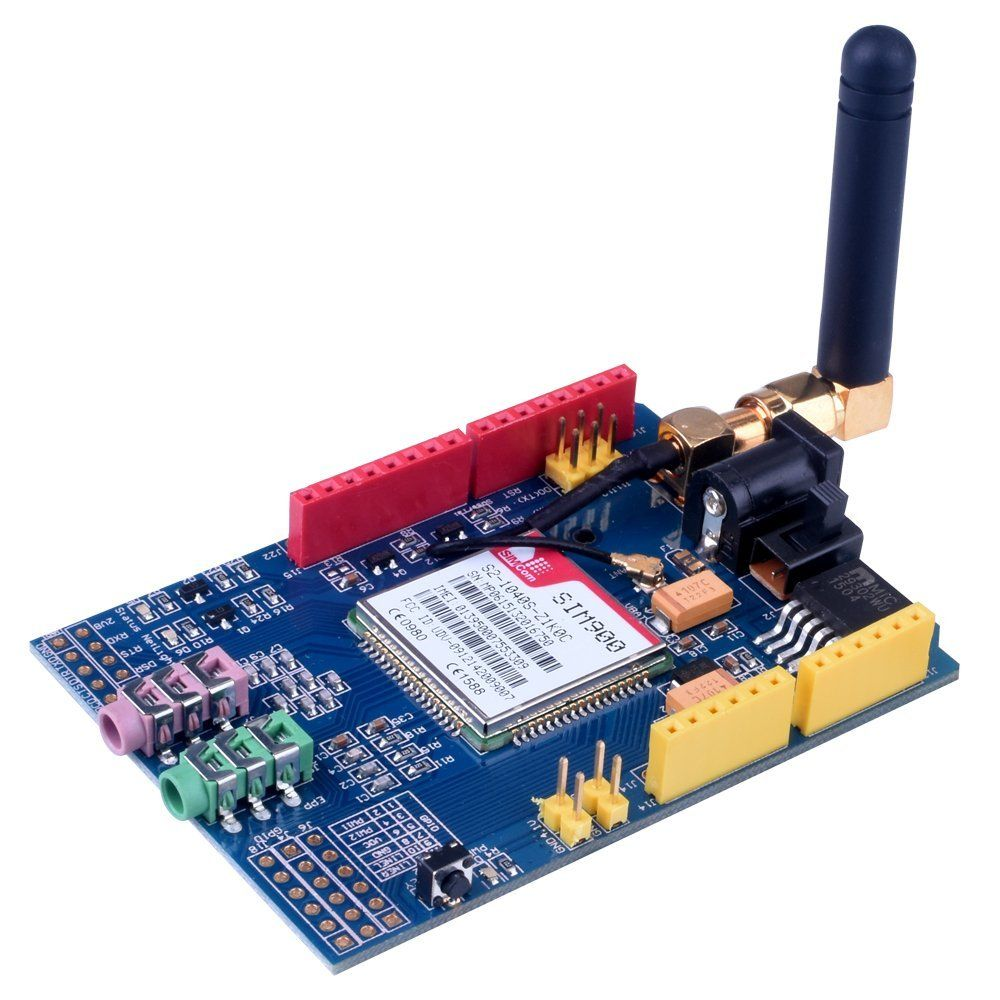 SIM900 Quad-band GSM-GPRS Shield für Arduino