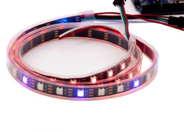 WS2812B LED Strip 5050 RGB DC5V 60 LEDs/m  wasserdicht