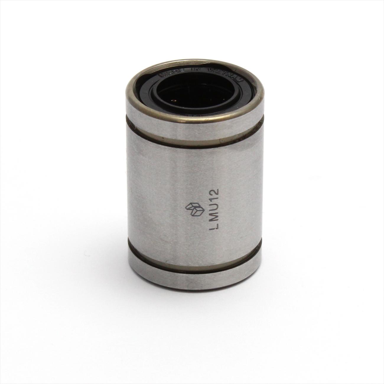 LMF12UU 12mm Innendurchmesser 4 Bolzen Linear rund Flansch Kugellager Lager