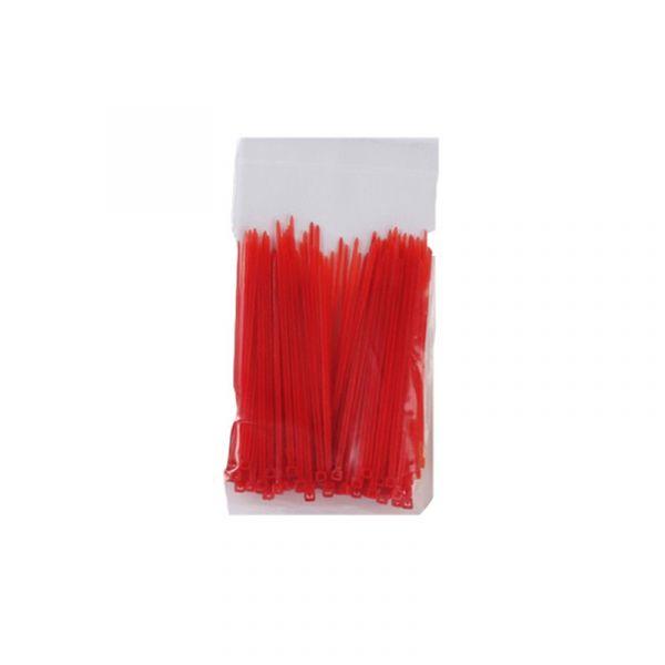 100 Kabelbinder Rot 2,5*100mm