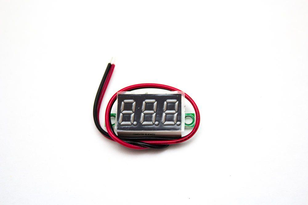 Mini Voltmeter Digital mit LED-Anzeige