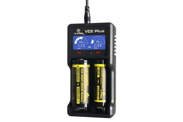 XTAR VC2Plus Master 2-Schacht USB-Ladegerät