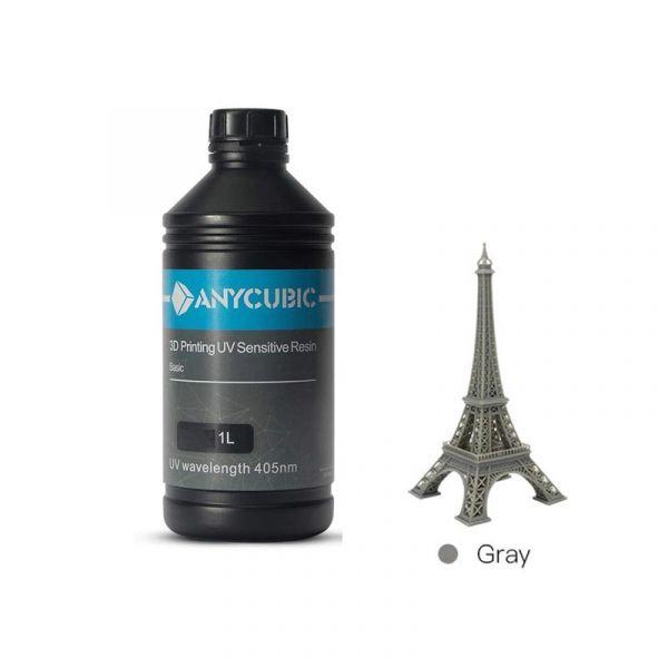 ANYCUBIC 1L Rapid Resin (Grau) 405nm
