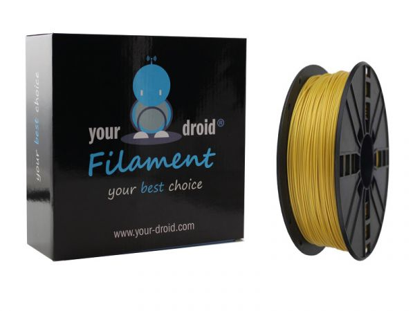Your Droid PLA-Filament yellow-gold