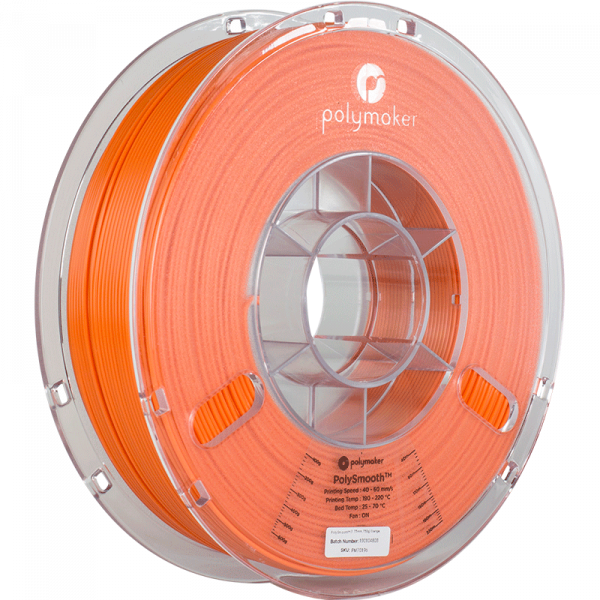 Polysmooth Filament Orange 1.75mm 750g