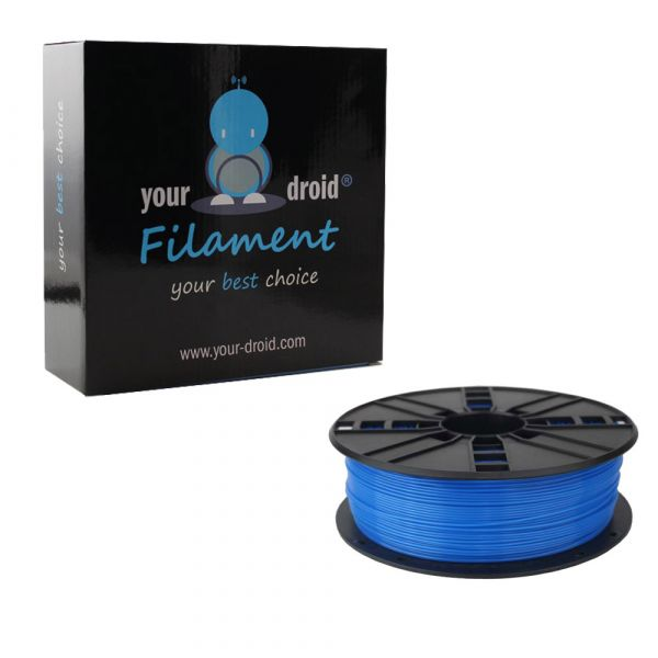 PLA Filament Fluorescent blue 1.75mm