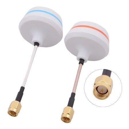 5,8Ghz Cloverleaf Antennen Set SMA Pin gerade