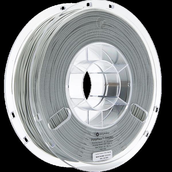 Polymaker PolyFlex TPU90 Grau 1.75mm 750g
