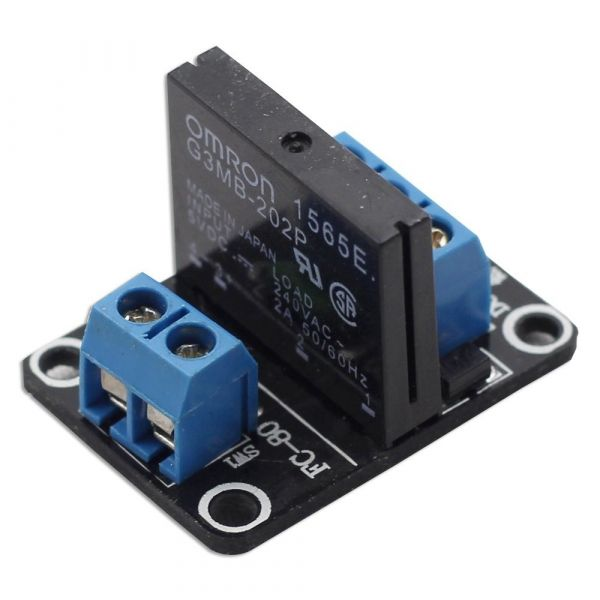1 Kanal Solid State Relais Modul 5V/230VAC High Level Trigger