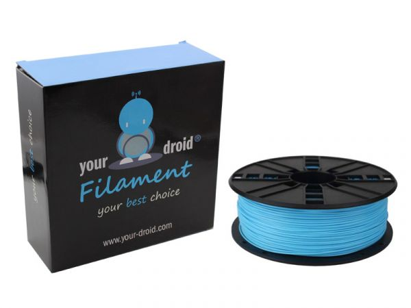 your droid filament ABS skyblue
