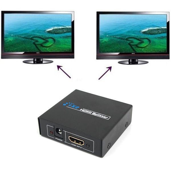 HDMI Splitter 1x2 Verteiler 1080p HDTV