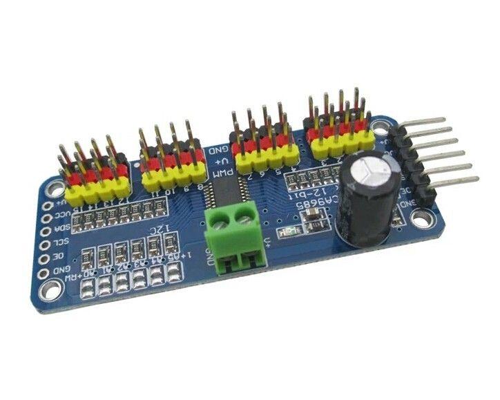 16 Kanal PWM-Servomotortreiber für Arduino Raspberry Pi