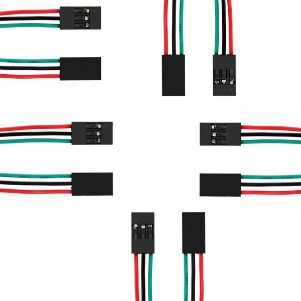 3 Pin Dupont Kabel Buchse-Buchse