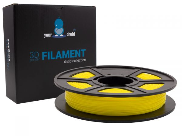 yourDroid TPU filament gelb1.75mm 500g