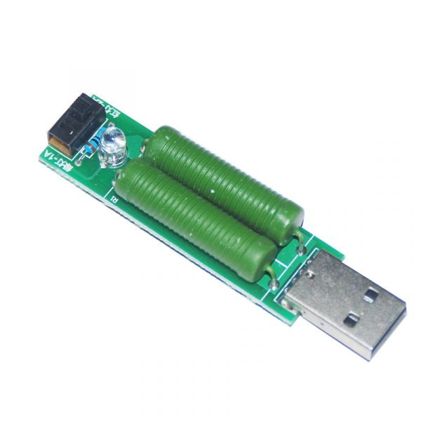USB Entladungsmodul Lastwiderstand mit Schalter 2A / 1A