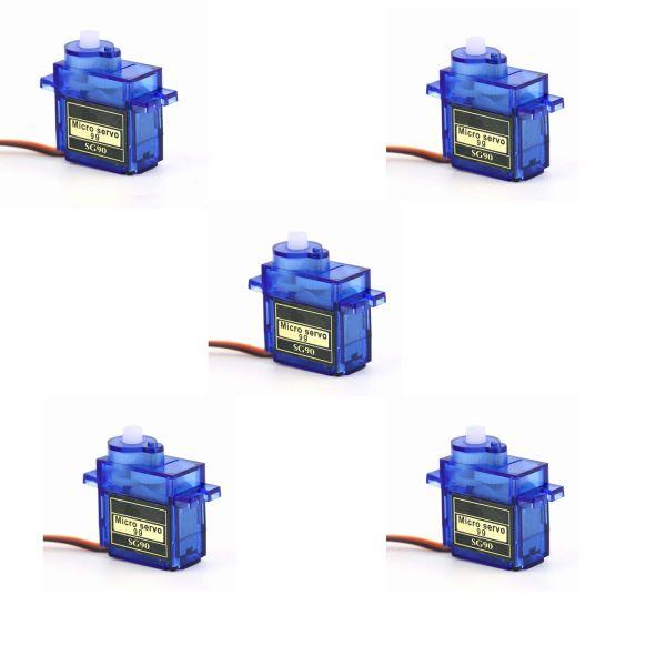 5er Set SG90 9G Micro Servos