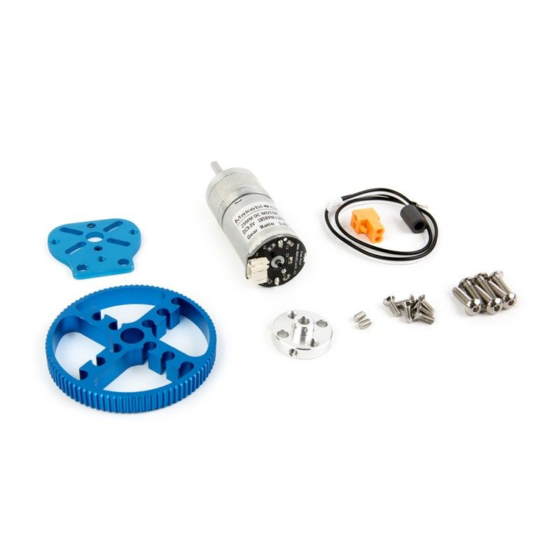 Makeblock 25mm DC Motor Pack Blue